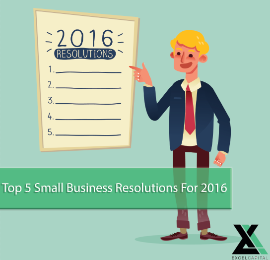 Top 5 Small Business Resolutions For Success In 2016