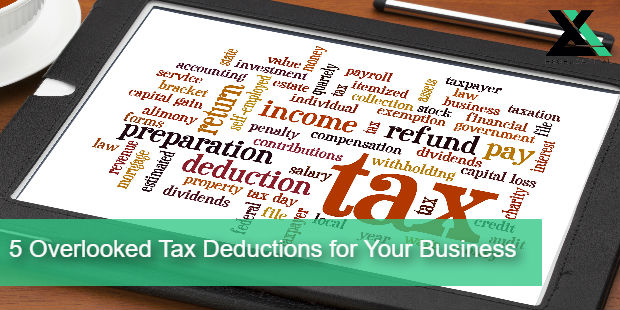 5 Overlooked Tax Deductions for Your Business | Excel Capital Management