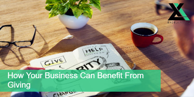 How Your Business Can Benefit from Giving | Excel Capital Management