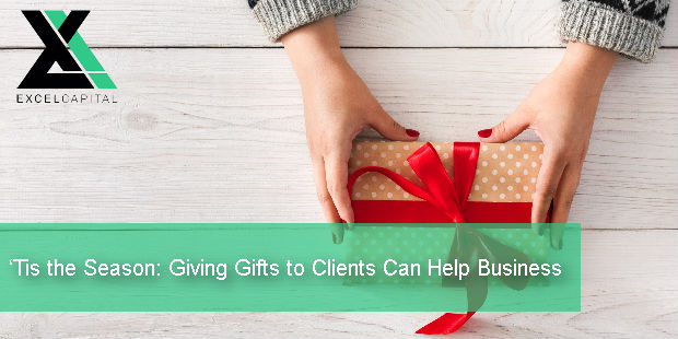 'Tis the Season: Giving Gifts to Clients Can Help Business | Excel Capital Management
