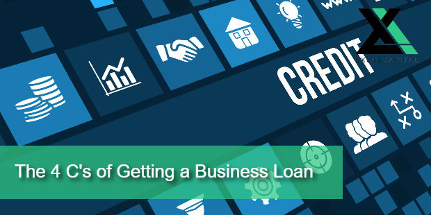 What are the 4 C's of Credit For Getting a Business Loan?
