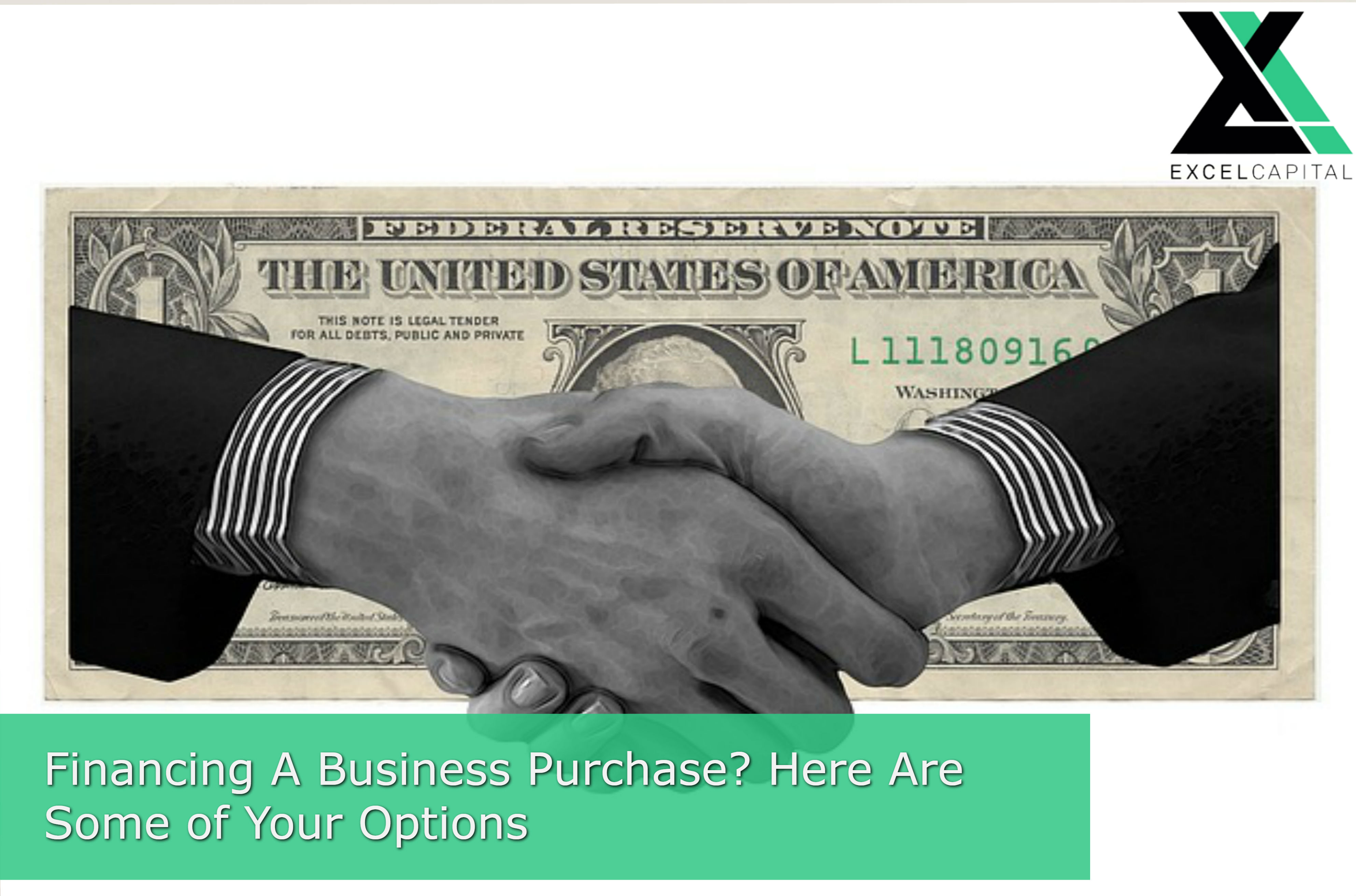 Financing A Business Purchase? Here Are Your Options