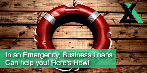 In an Emergency Business Loans Can Help You Here's How! | Excel Capital Management