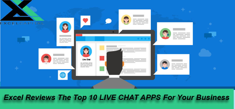 Top 10 Live chat Apps | Excel Capital