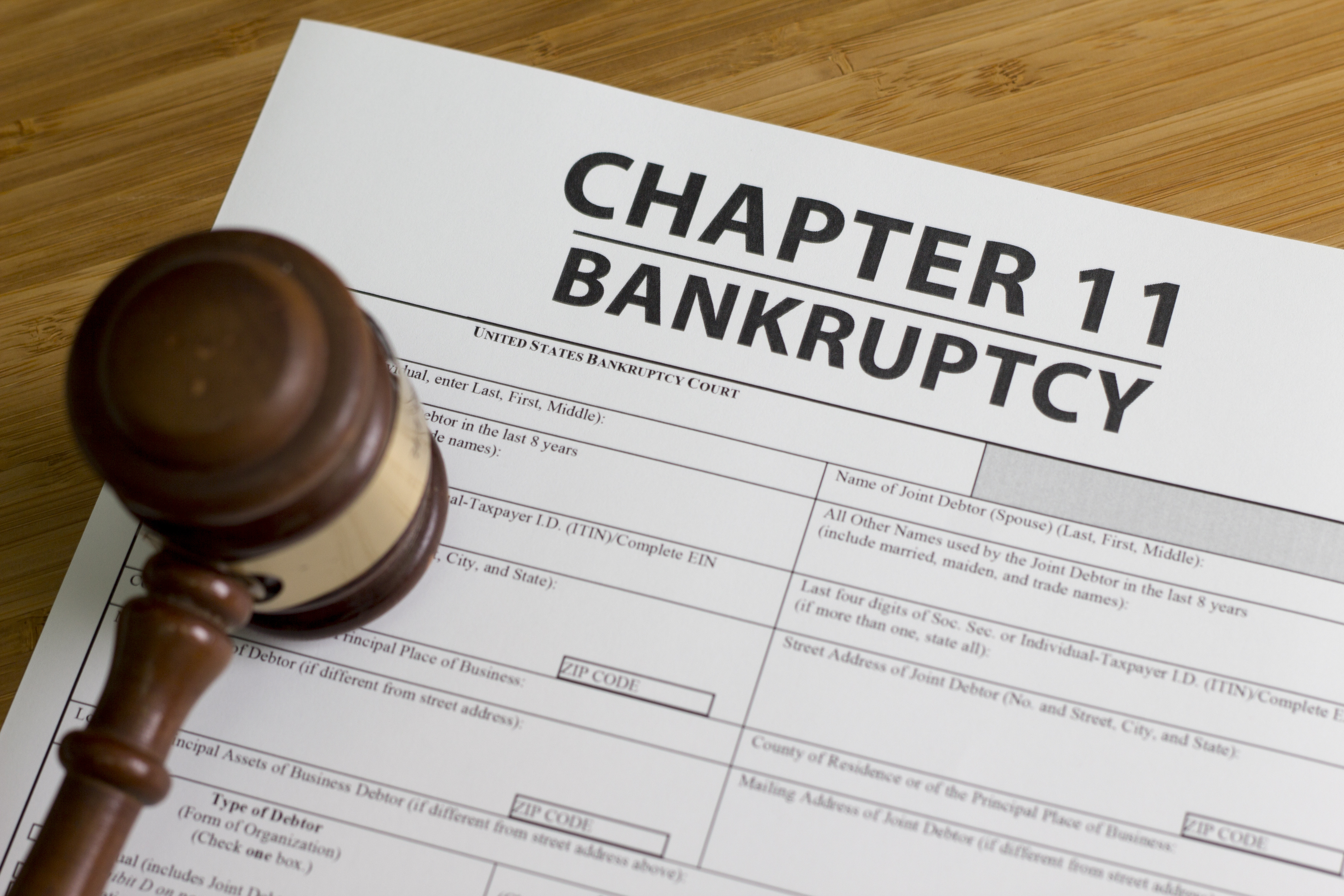 Difference Between Business Bankruptcy And Personal Bankruptcy