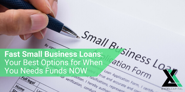 EXCEL CAPITAL - FAST SMALL BUSINESS LOANS