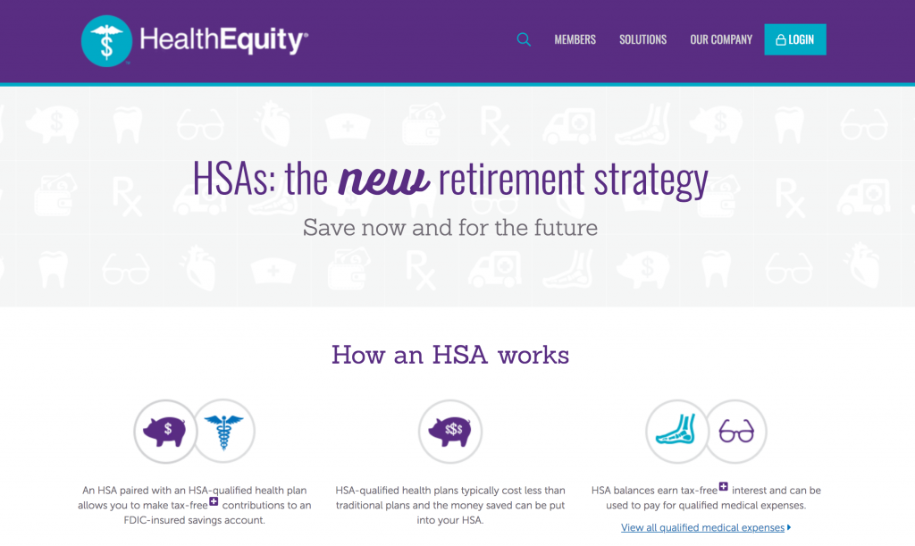 EXCEL CAPITAL - SELF-EMPLOYED HEALTH INSURANCE - HEALTHEQUITY