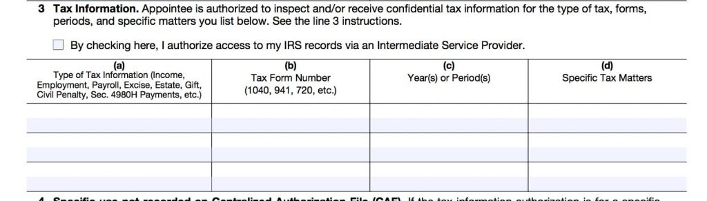 EXCAL CAPITAL - IRS Form 8821