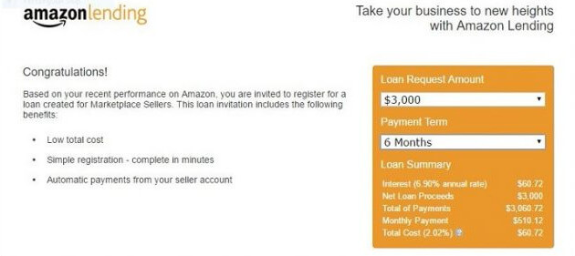 HOW TO SELL ON AMAZON - Amazon Lending Offer