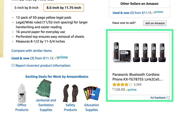 EXCEL CAPITAL - HOW TO SELL ON AMAZON - ADS1