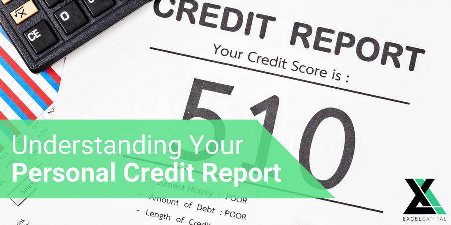 Understanding Your Personal Credit Report