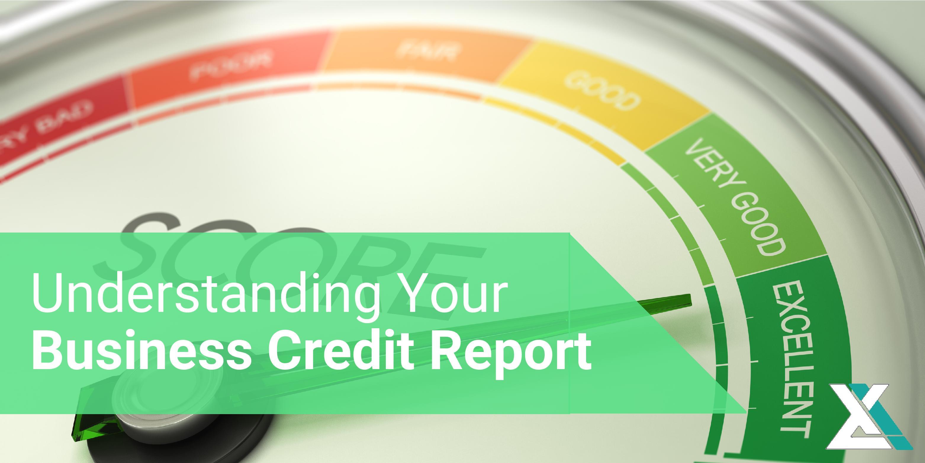 Understanding Your Business Credit Report