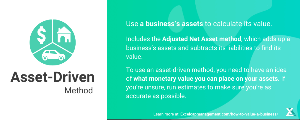 EXCELCAPITAL - HOW TO VALUE A BUSINESS