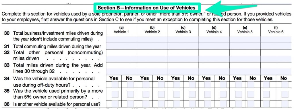 IRS_FORM_4562 PART 5 SECTION B