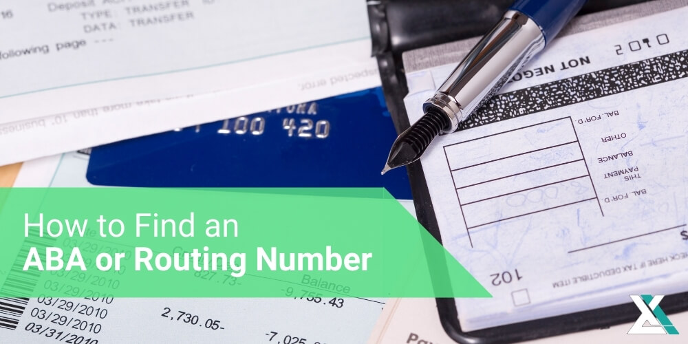 How to Find an ABA or Routing Number